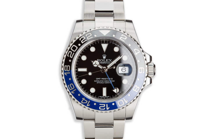 2013 Rolex GMT II 116710B with Box and Card photo