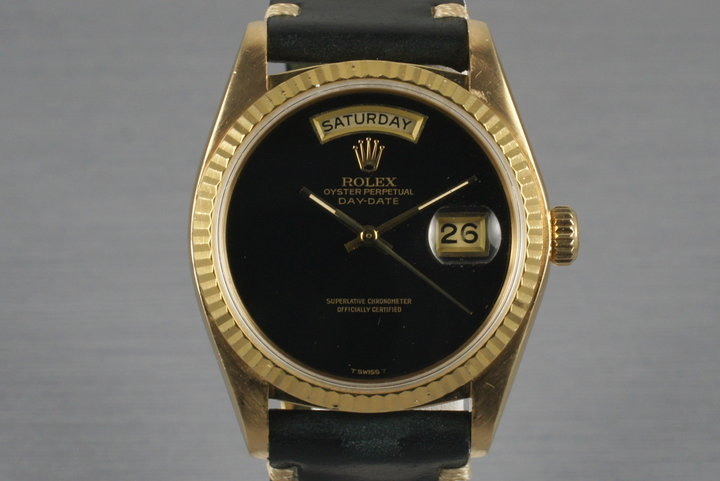1979 YG Day-Date 18038 Onyx Dial photo