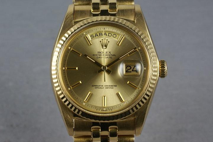 Rolex Vintage YG President 1803 photo
