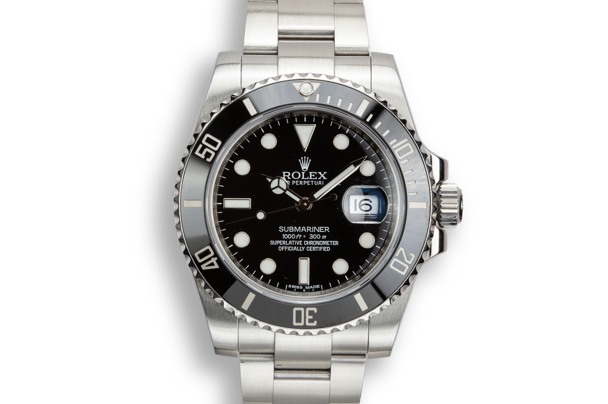 2011 Rolex Ceramic Submariner 116610 with Box and Papers photo, #0