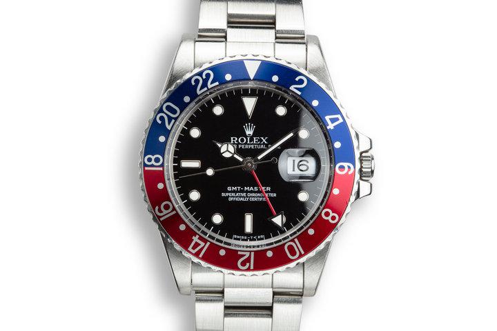 """1985 Rolex GMT-Master 16750 """"Pepsi"""" photo"""