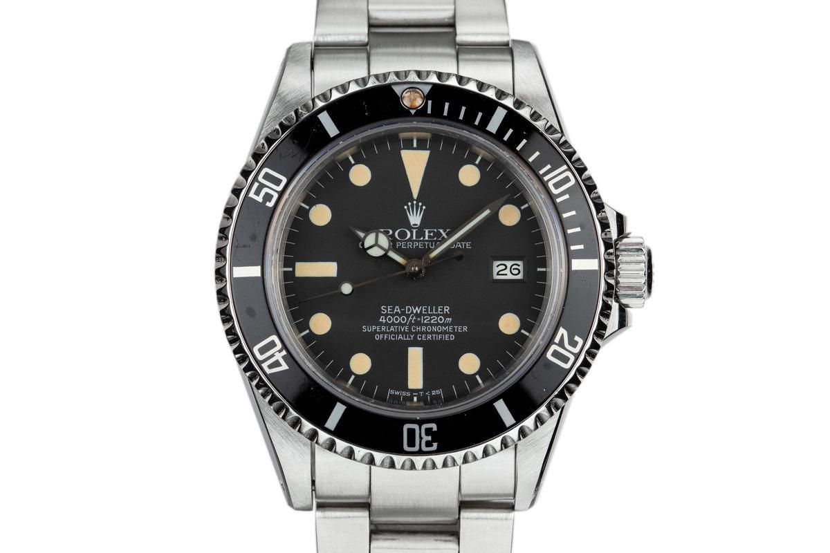 1980 Rolex Sea-Dweller 16660 Matte Dial photo, #0