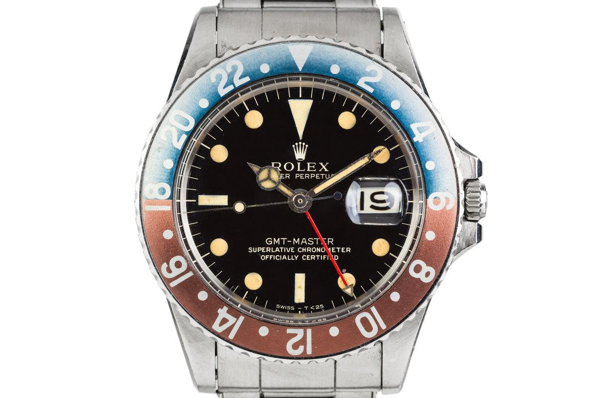 1965 Rolex GMT-Master 1675 Gilt Dial photo, #0