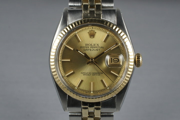 1972 Rolex Two Tone DateJust 1601 photo
