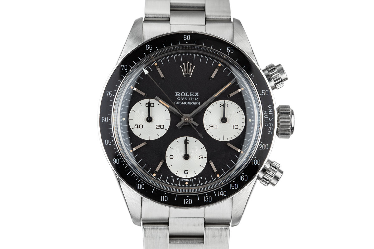 1972 Rolex Daytona 6263 with Black Sigma Dial photo, #0