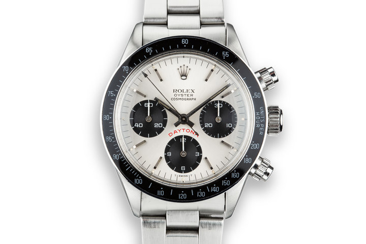 "1977 Rolex Daytona 6263 ""Big Red"" Silver Dial photo"