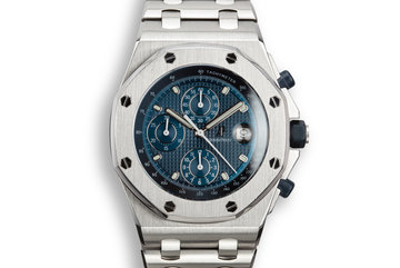 Audemars Piguet Royal Oak Off Shore 25721ST.OO.1000ST.01 with Box and Service Papers photo