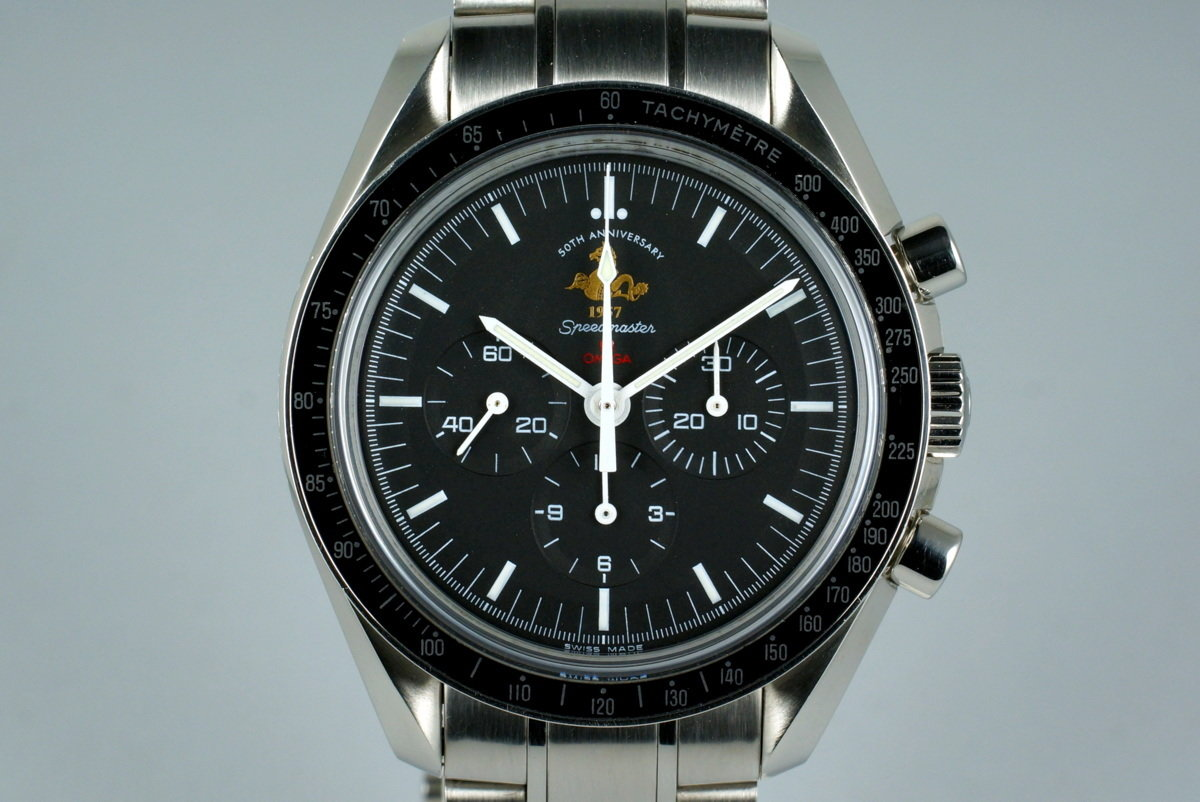 2007 Omega Speedmaster 311.30.42.30 50th Anniversary Limited Ed. with Box photo, #0