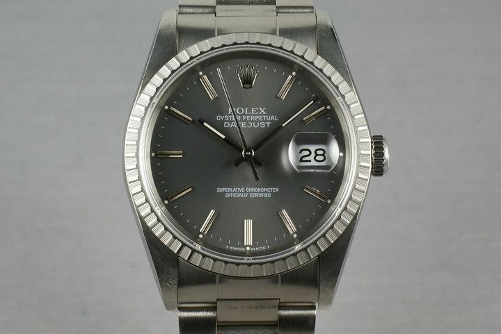 Rolex Stainless Steel Datejust Ref: 16220 photo