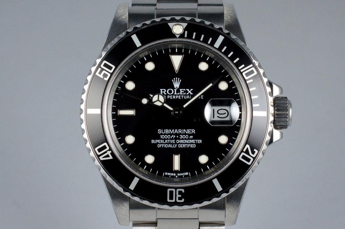 1987 Rolex Submariner 168000 photo, #0