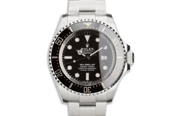 2020 Rolex Deep Sea-Dweller 126660 with Box & Papers photo
