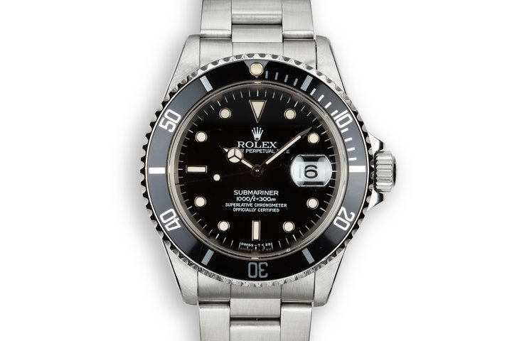 1995 Rolex Submariner 16610 with Box and Papers photo