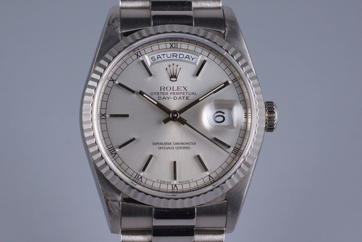 1995 Rolex WG Day-Date 18239 photo, #0
