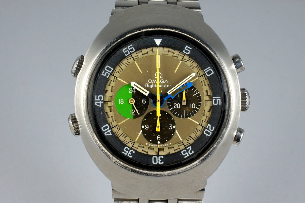 1969 Omega Flightmaster 910 with Tropical Dial photo, #0