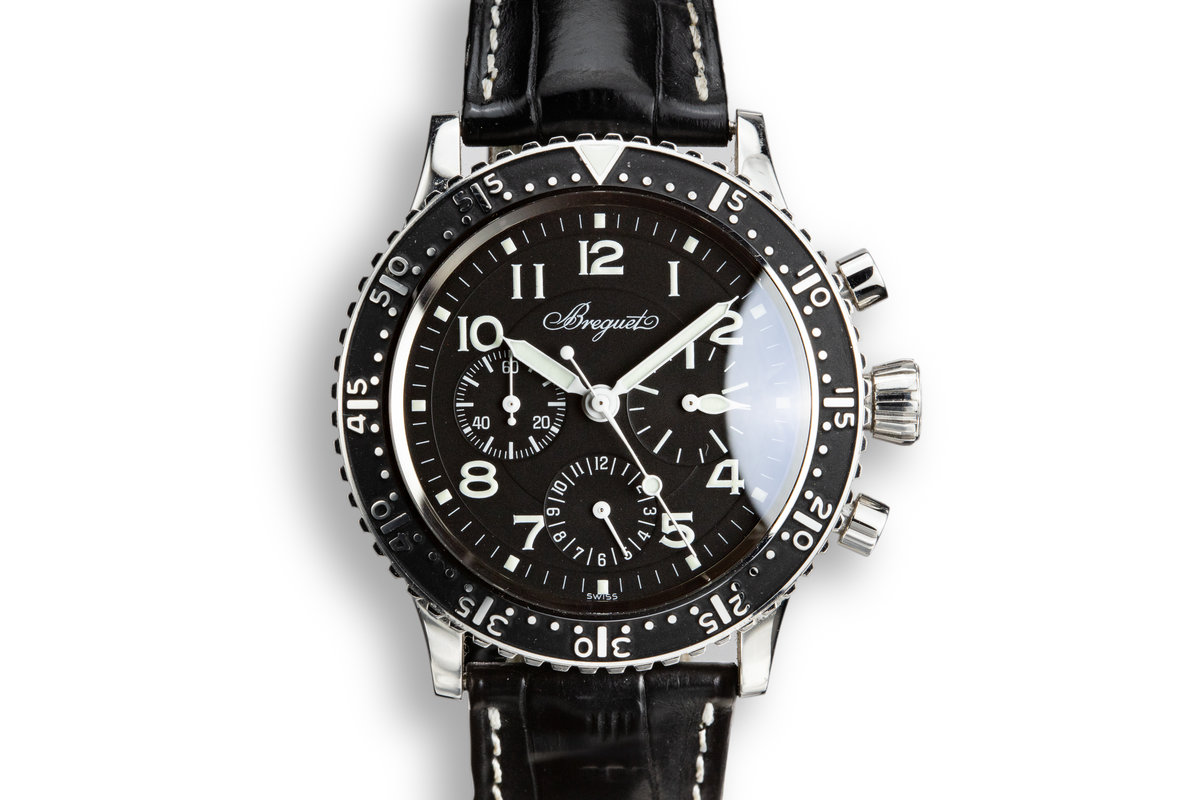 2013 Breguet Type XX Aeronavale 3803ST with Box and Papers photo, #0