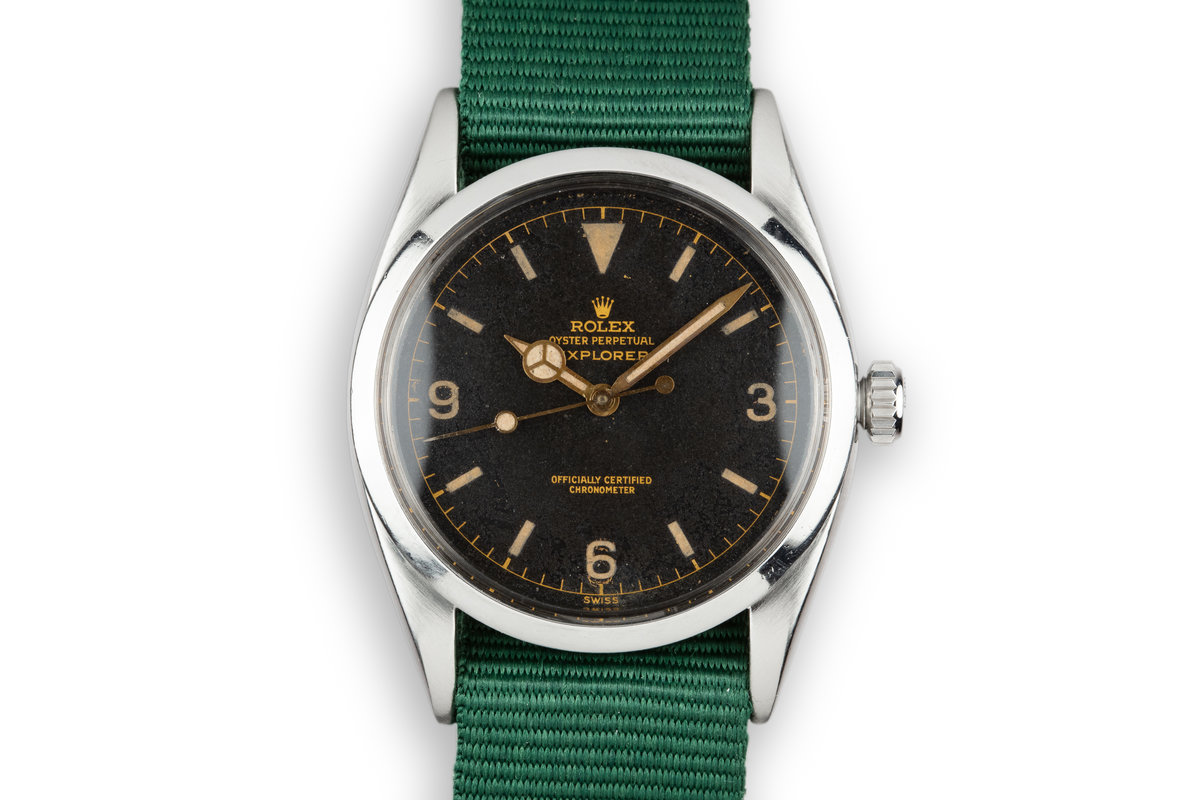 1956 Rolex Explorer 6610 Gilt Dial photo, #0