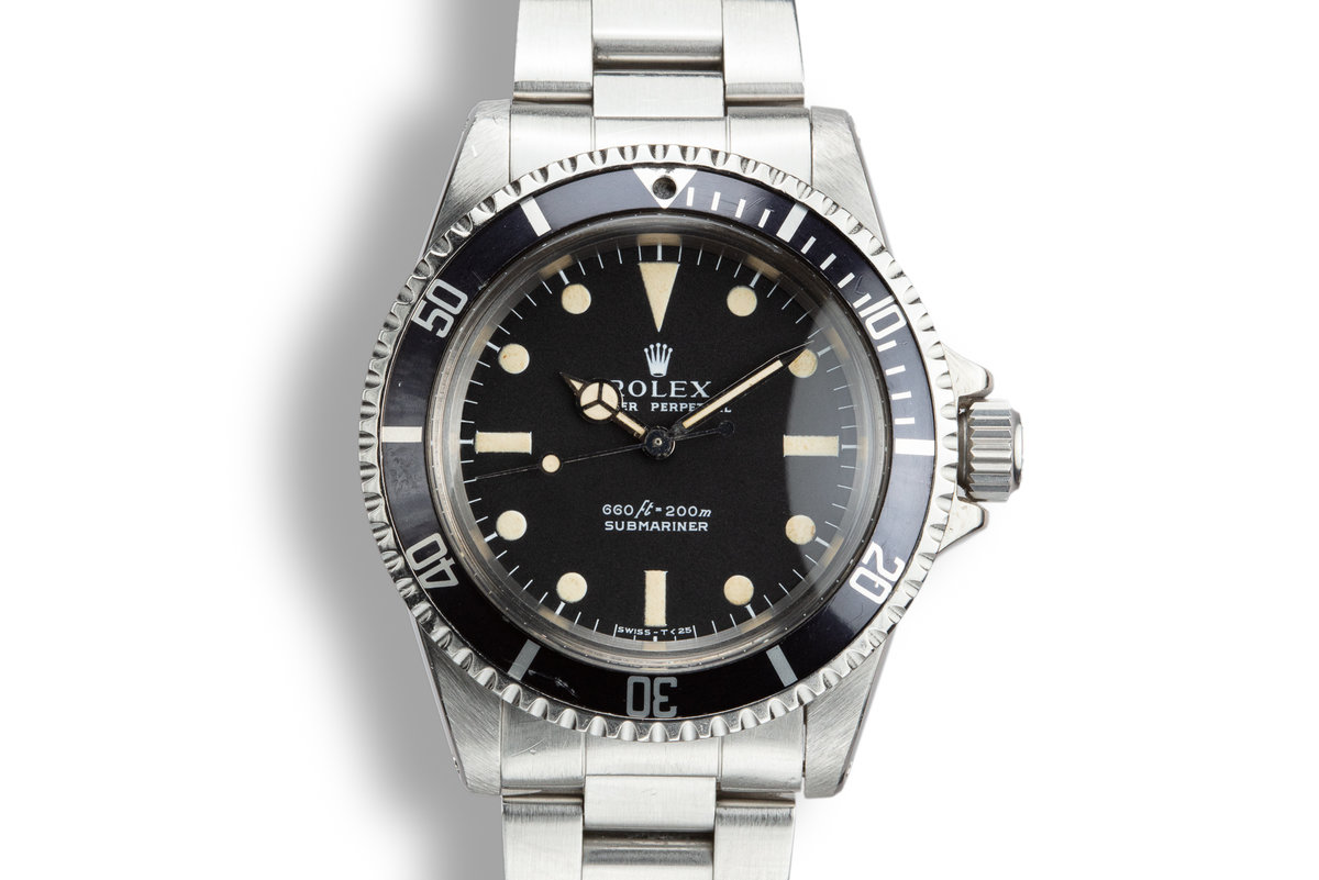 1975 Rolex Submariner 5513 Serif Dial photo, #0