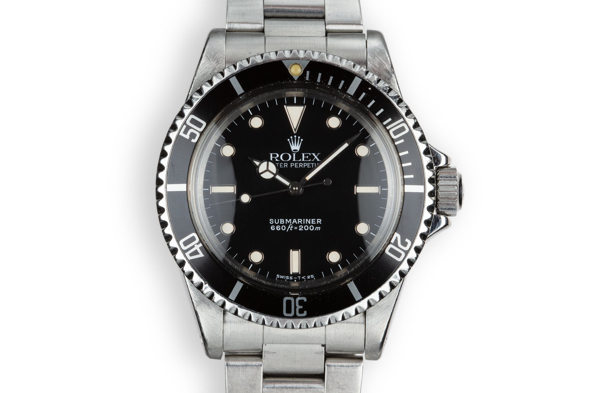 1987 Rolex Submariner 5513 Glossy Dial photo, #0