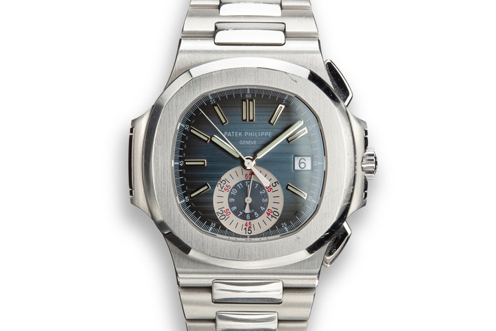 2008 Patek Philippe Nautilus Chronograph 5980 with Box and Papers photo