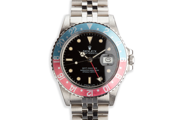 "1985 Vintage Rolex GMT-Master 16750 ""Pepsi"" photo"
