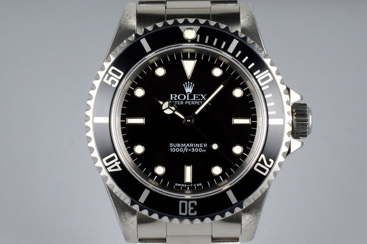 1994 Rolex Submariner 14060 with Box and Papers photo