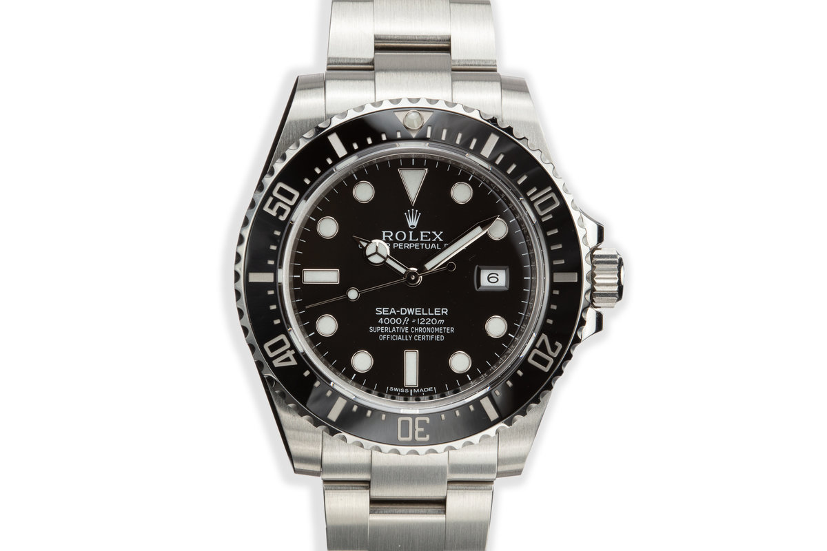 2014 Rolex Sea-Dweller 116600 with Box and Papers photo, #0