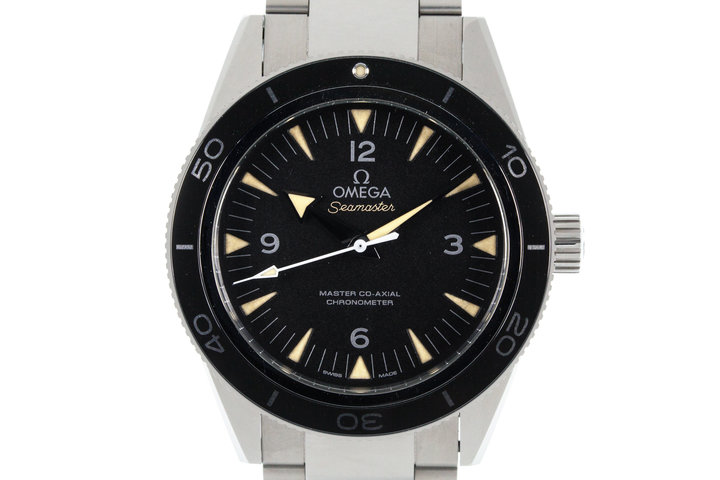 2015 Omega Seamaster Co-Axial Chronometer with Box and Papers photo
