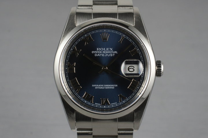 1999 Rolex DateJust 16200 with Box photo