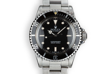 1987 Rolex Submariner 5513 Glossy Dial photo