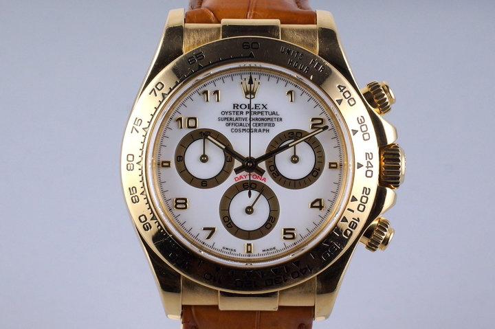 2000 Rolex YG Daytona 116518 photo