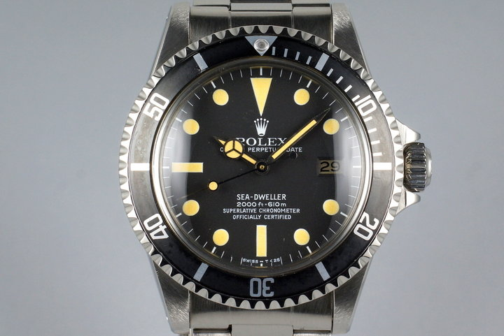 1981 Rolex Sea Dweller 1665 Mark I Dial photo