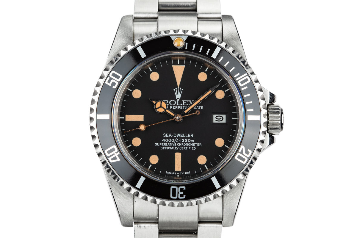 1980 Rolex Sea-Dweller 16660 Matte Dial photo, #0