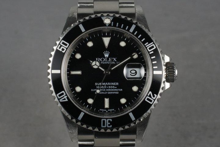 2005 Rolex Submariner 16610 T photo