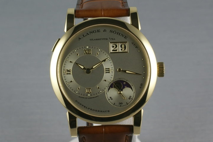 A. Lange & Sohne YG 109.021 Lange 1 Moonphase photo
