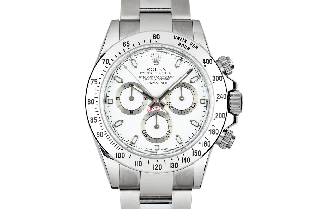 2009 Rolex Daytona 116520 White Dial with Box and Papers photo, #0