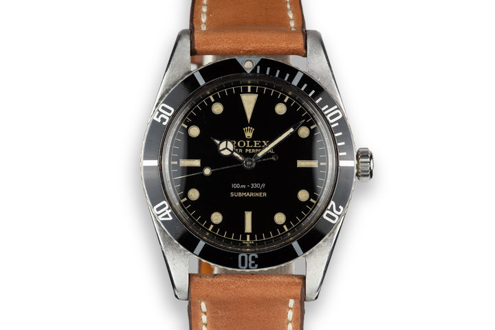 1958 Rolex Submariner 5508 Gilt Dial photo