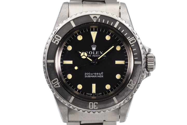 1970 Rolex Submariner 5513 Meters First Dial photo