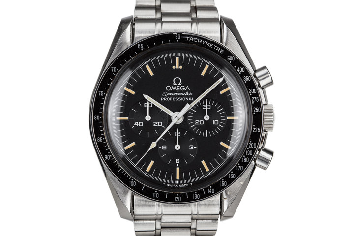 1995 Omega Speedmaster Professional with Creamy Patina photo