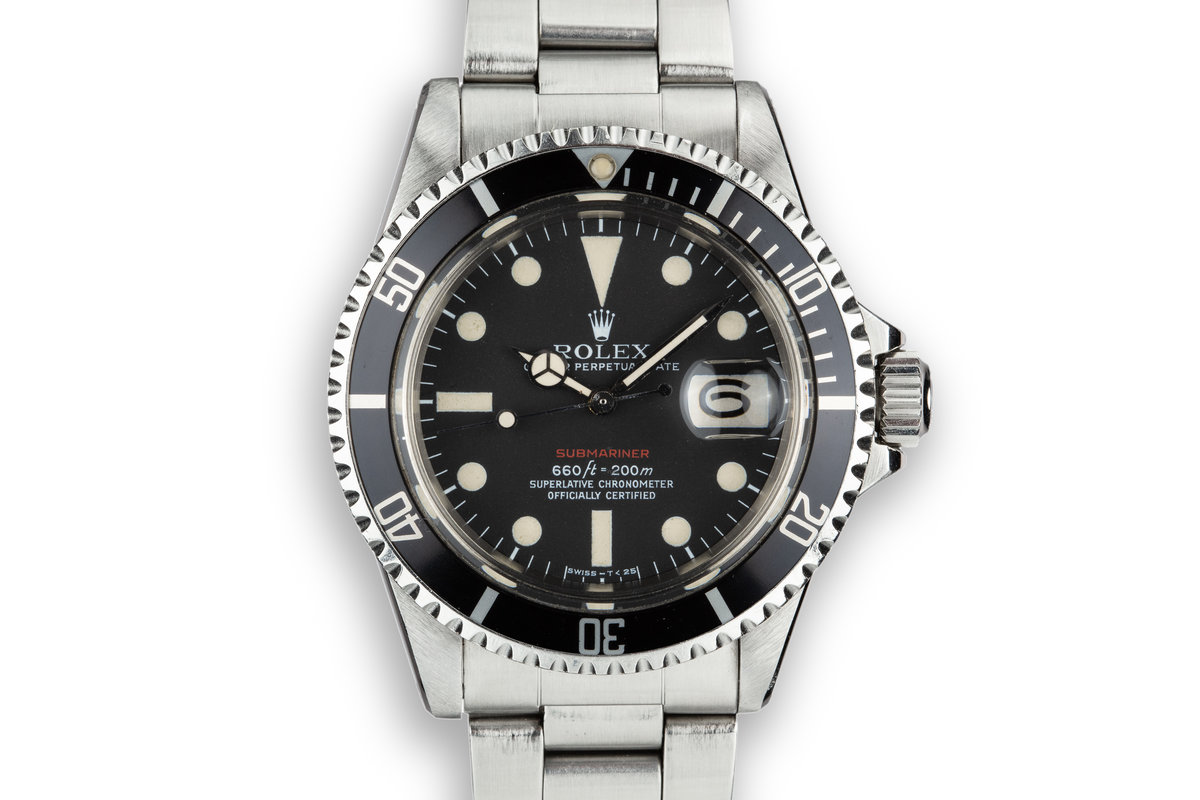 1971 Rolex Red Submariner 1680 with Mk V Dial photo, #0