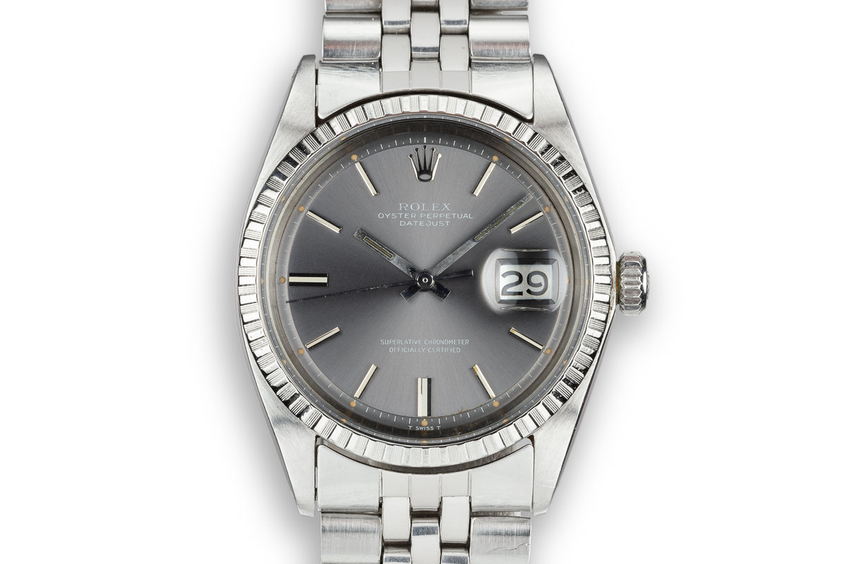 1972 Rolex DateJust 1603 Grey Dial photo, #0
