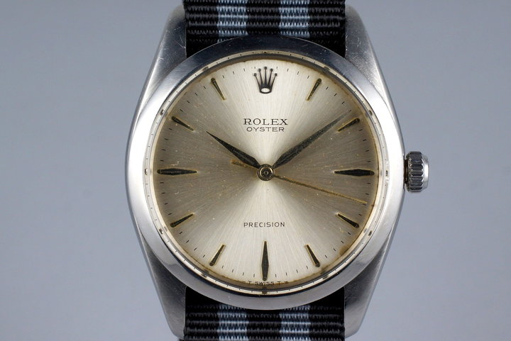 1965 Rolex Oyster Precision 6424 with Silver Dial photo