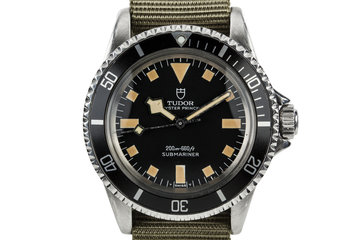 1965 Tudor Submariner 7928 with Newer Snowflake Dial and Hands photo