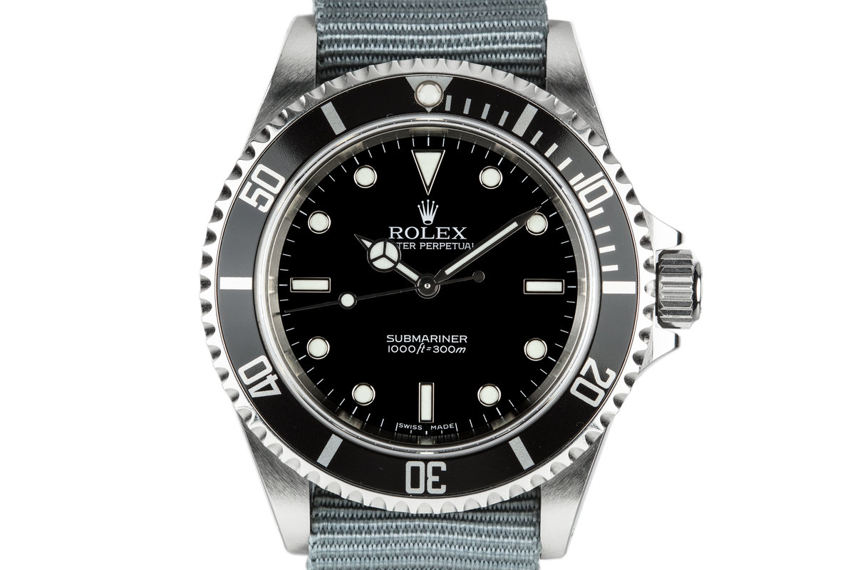 2006 Rolex Submariner 14060M photo, #0