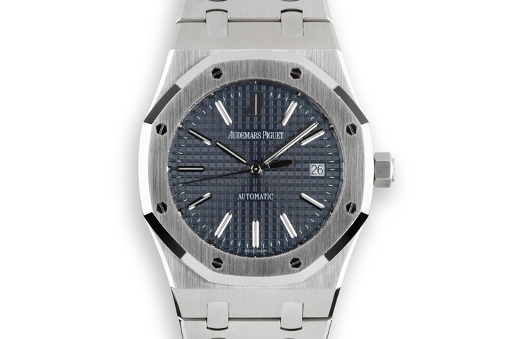 2012 Audemars Piguet Royal Oak 15300ST with Box and Papers photo