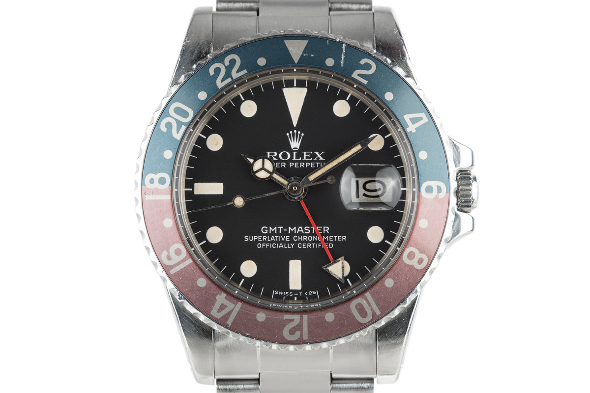 1978 Rolex GMT-Master 1675 with Box and Papers photo, #0