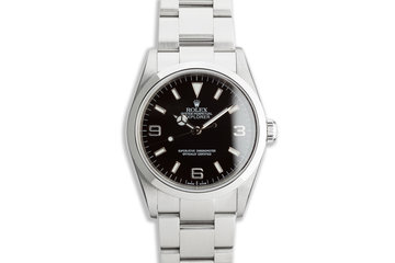 2004 Rolex Explorer 114270 with Box and Papers photo