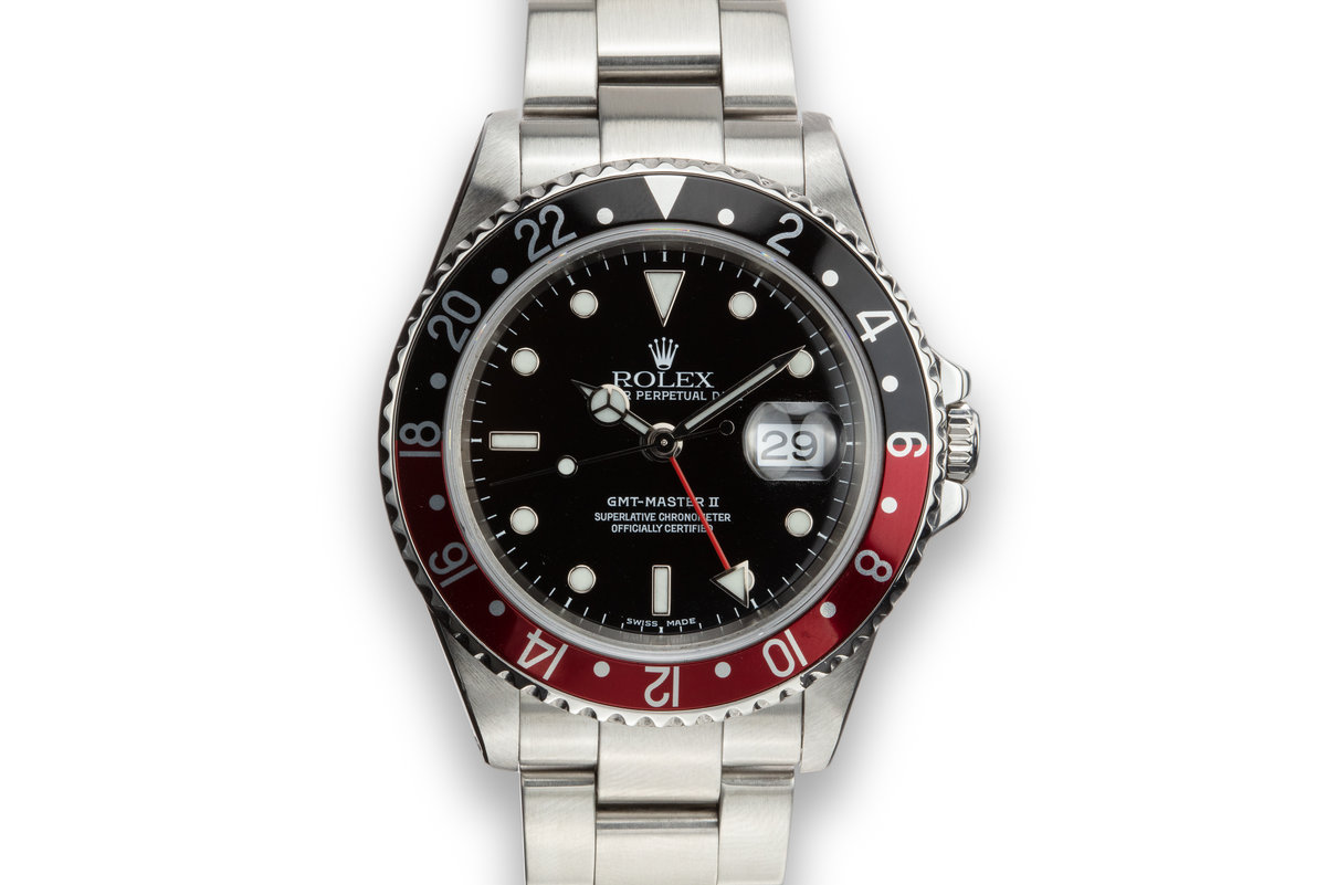"2002 Rolex GMT-Master II16710 ""Coke"" photo, #0"