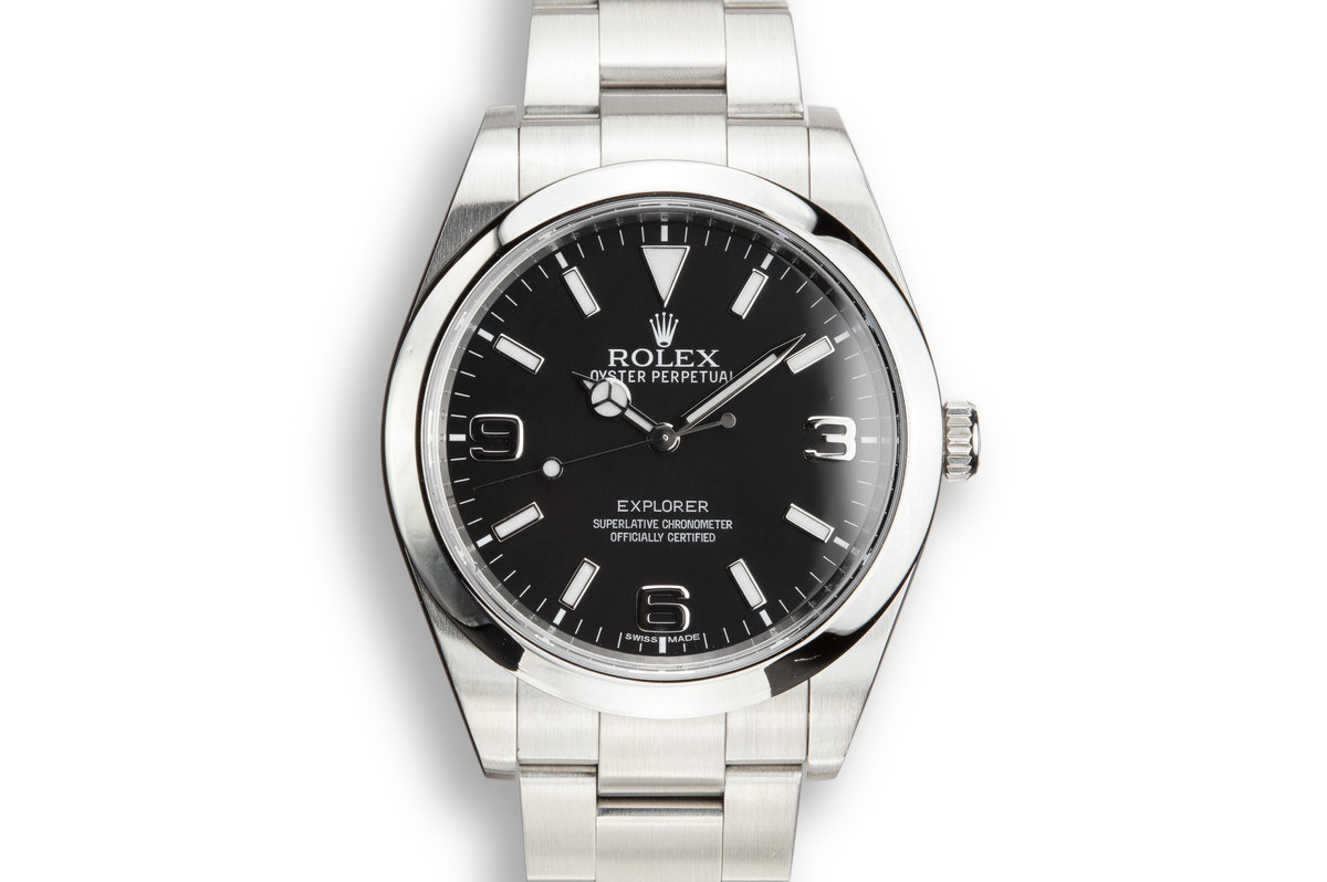 2010 Rolex 39mm Explorer 214270 with Box and Papers photo, #0