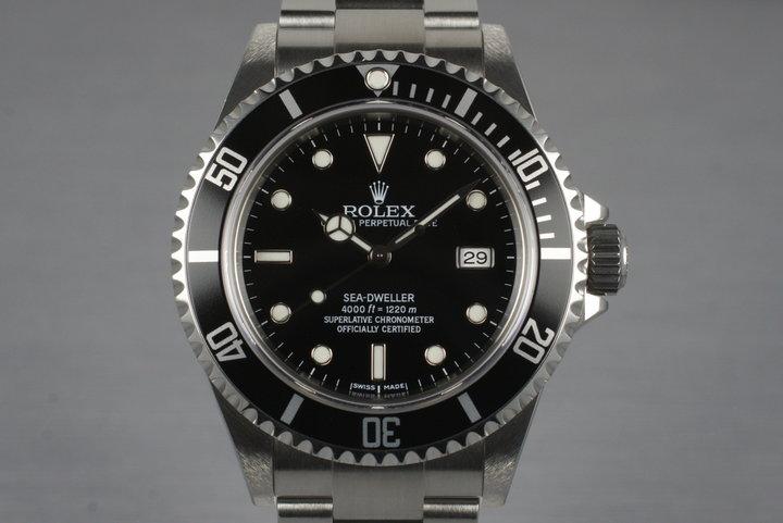 2006 Rolex Sea Dweller 16600T photo