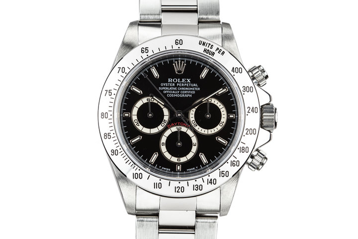1997 Rolex Zentih Daytona 16520 Black Dial with Box and Papers photo